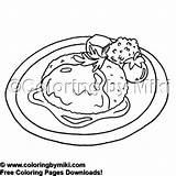 Coloring Steak Meals Coloringbymiki Delicious 2054 Salisbury sketch template