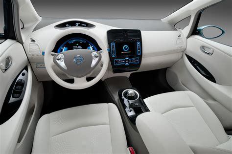 wallpaper nissan leaf electric cars nissan interior