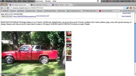 craigslist bradenton florida cars trucks  vans cheap