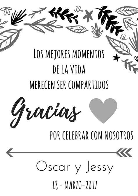 tarjetas de agradecimiento bodas ideas frases in 2019 wedding wedding collage