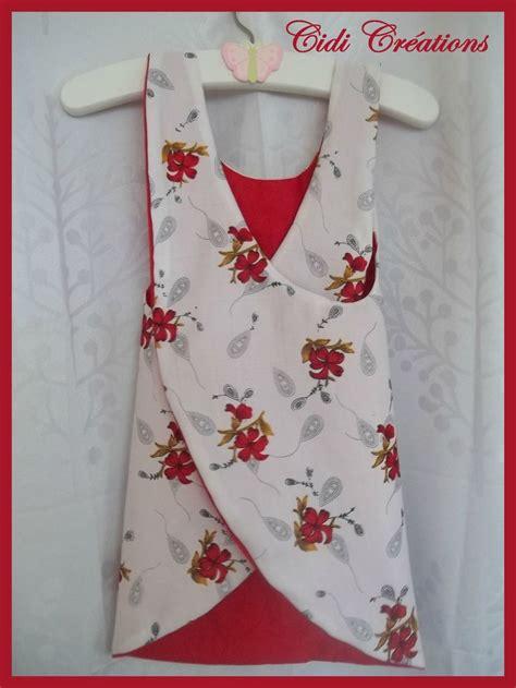 tags couture facile mode enfant mode fillette tablier crois 233 tenue 233 t 233 tuto d 233 bardeur