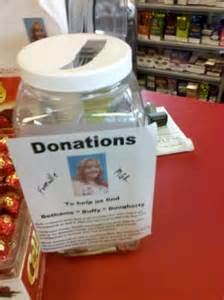 Donation Jar Ideas