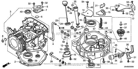 Honda Engines Gxvut Engine Tha Vin Gjadt