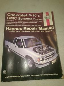 1996 Chevy Blazer Repair Guide