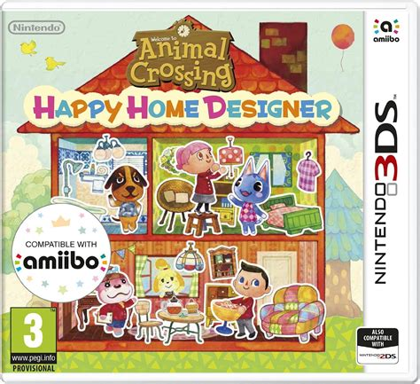 Animal Crossing Happy Home Designer  Nintendo 3ds  In