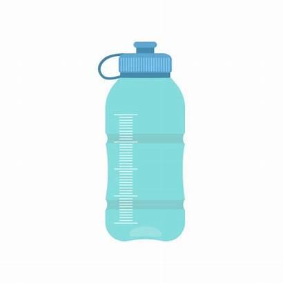 Bottle Water Reusable Clip Illustrations Cartoons Graphics