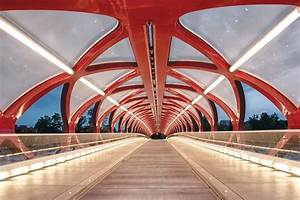 Design Tech Interiors Peace Bridge Calgary Architect Magazine