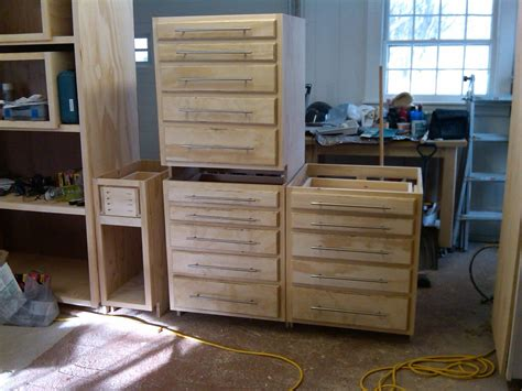kreg jig kitchen cabinet plans new cabinets for my workshop s quot tool crib quot kreg owners 8829
