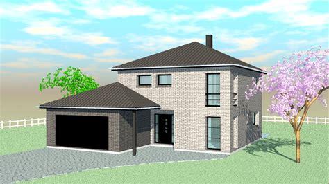 aménagement cuisine d été construire sa grande maison moderne