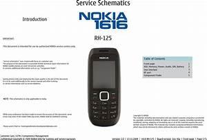 Nokia 1616 Rh 125 Service Schematics   S Manuals Com