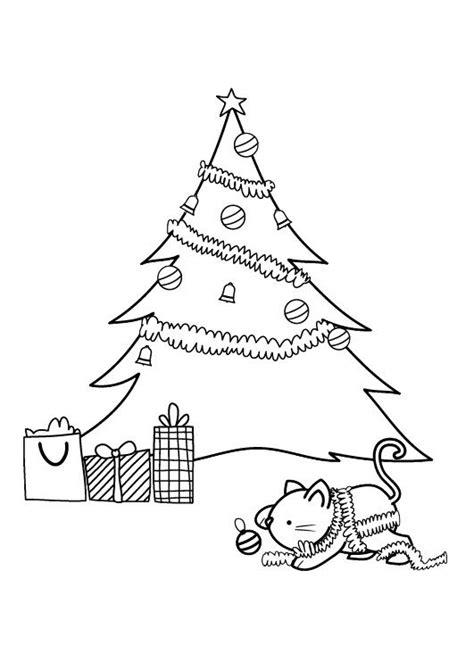 imprimir 193 rbol de navidad dibujo para imprimir y colorear