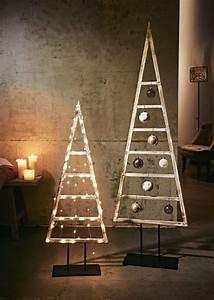 Adventskalender Holz Baum : deko objekt baum materialmix rustikal holz metall ~ Watch28wear.com Haus und Dekorationen