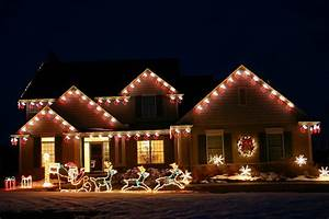 christmas yard decorations outdoor the home depot With 5 unique outdoor holiday lighting ideas