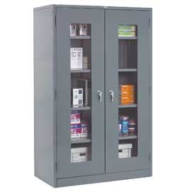 easy view cabinet organizers cabinets see thru door global clear view storage