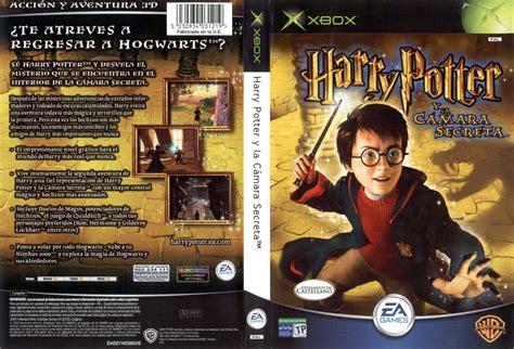 Carátula De Harry Potter Y La Camara Secreta Para Xbox