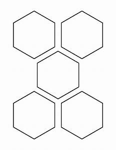 35 inch hexagon pattern use the printable outline for With 3 inch hexagon template
