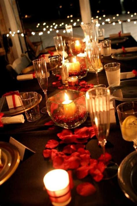 red and black table ls red white and black wedding table