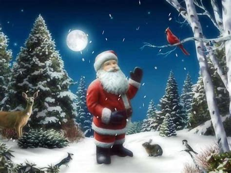 Santa Claus Desktop Free Santa Claus Moving On Free Year Screensaver By For Free