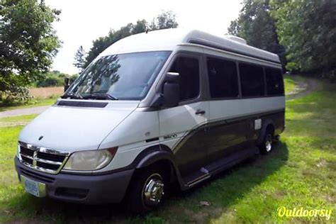 dodge sprinter van motor home camper van rental