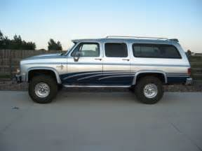 1984 Chevy Suburban 3/4 Ton 4x4 454 Big Block Custom Paint