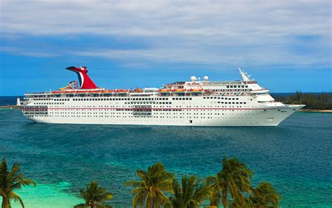 Carnival Ecstasy 4 Night Bahamas Cruise Departs Charleston ...