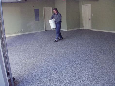 garage floor paint drying how to epoxy coat a garage floor pittsburgh property guy