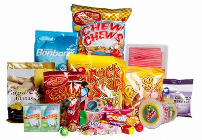 Candy Packaging Sweets Confectionery Transparent Flavors Watering