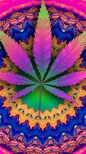 Pics For Trippy Weed Wallpaper Iphone