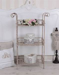 Regal Shabby Chic : vintage regal servierwagen beistelltisch shabby chic k chenregal k niglich ~ One.caynefoto.club Haus und Dekorationen