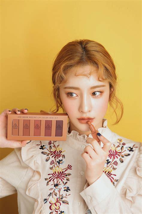 3ce lipstick set mini kit 3ce mood recipe lip color mini kit kbeauty original