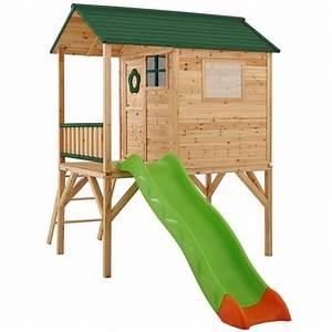 Maisonnette En Bois Sur Pilotis : maisonnette bois armelle sur pilotis trigano store ~ Dailycaller-alerts.com Idées de Décoration