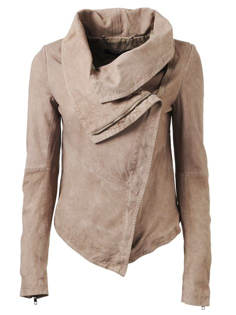 light fall jacket thaxter suede jacket in light mink