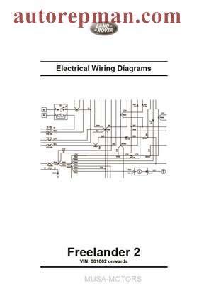 land rover freelander 2 wiring diagrams