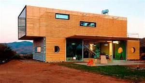 Moderne Container Häuser : container haus container haus wohncontainer ~ Whattoseeinmadrid.com Haus und Dekorationen