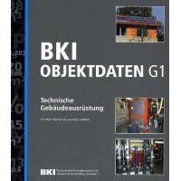 Bki Objektdaten Technische Gebaeudeausruestung G5 by Bki Objektdaten G1