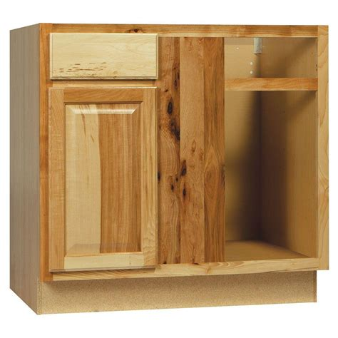 kitchen cabinet corners hton bay shaker assembled 36x34 5x24 in farmhouse 2435