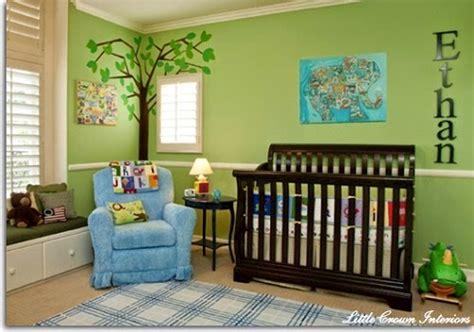 d co chambre b b gar on déco chambre bébé garçon bleu et vert bébé et décoration