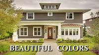 paint colors for homes BEAUTIFUL COLORS FOR EXTERIOR HOUSE PAINT - Choosing ...