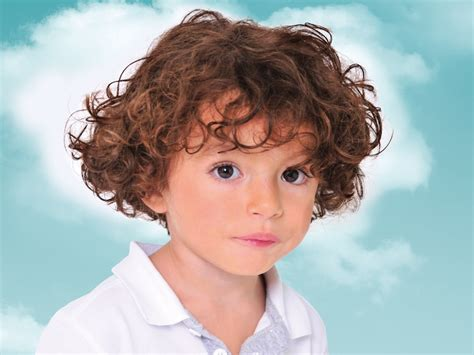 Kid Hairstyles For Curly Hair by Curly Hair Style For Toddlers And Preschool Boys