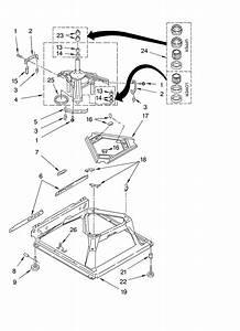 Whirlpool Lsq8511kq0 Washer Parts