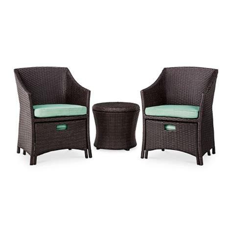 loft 5 wicker patio conversation furniture target