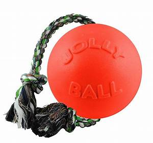 Jolly, Pets, Romp-n-roll, Ball, Dog, Toy, Orange