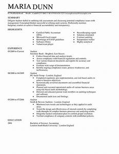 accounting finance cv examples cv templates livecareer With cv builder uk