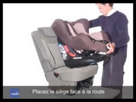 comment attacher siege auto iséos néo de bébé confort installation