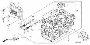Honda Gcv160 Lawn Mower Parts Diagram