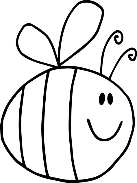 bee template 91 top bumble bee coloring pages awesome coloring 8104 funy bee bumble coloring page