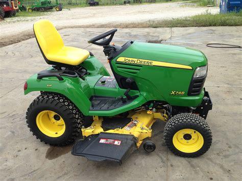 garden tractors for deere x748 lawn garden tractors for 49488