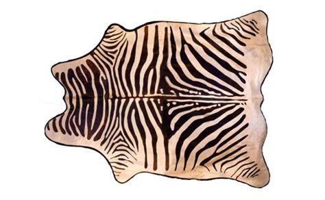 zebra hide rug faux black zebra hide with felt back jayson home