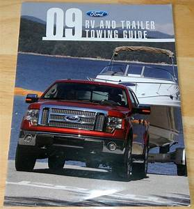 Purchase 2009 Ford Rv And Trailer Towing Guide Brochure In