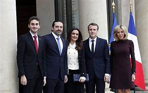 With Hariri in France, Trump and Macron discuss countering ...